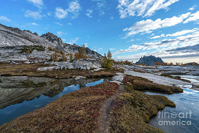 Photograph - Path To Prusik Peak by Mike Reid