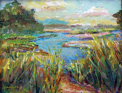 Painting - Path To Richness by Laurie Samara-Schlageter