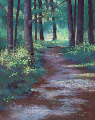 Painting - Path To River by Lynn Goldstein