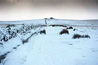 Photograph - Path To South Hessary Tor by Helen Northcott