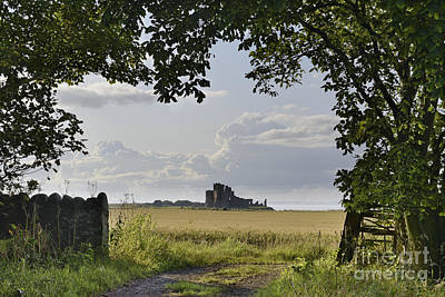 Firth Photograph - Path To Tantallon Castle by Rod McLean
