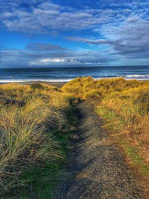 Photograph - Path To The Beach by Bonnie Bruno