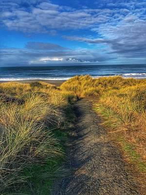 Photograph - Path To The Beach by Bonnie Bruno
