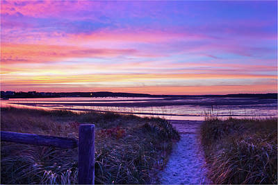 Photograph - Path To The Beach by Ed Fletcher