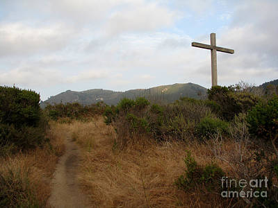 Photograph - Path To The Cross by James B Toy