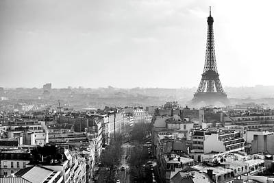 Photograph - Path To The Eiffel Tower by John Rizzuto