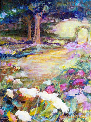 Painting - Path To The Light by Nancy Isbell
