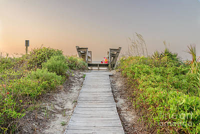 Photograph - Path To The Sea by Elvis Vaughn