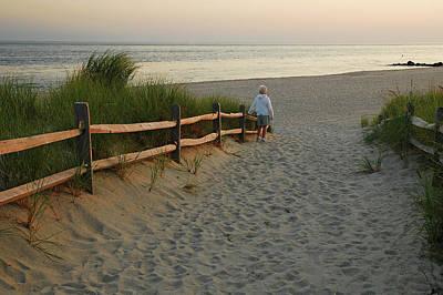 Photograph - Path To The Sea by James Kirkikis