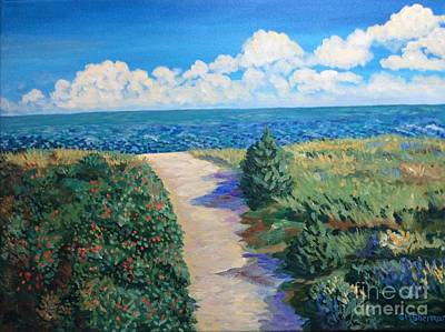 Painting - Path To The Sea by Stella Sherman