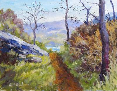 Painting - Path To The Water by William Reed