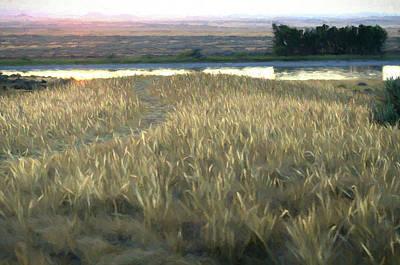 Digital Art - Path To The Yellowstone by Aliceann Carlton