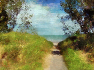 Photograph - Path To Whihala Beach 2 - Limited Edition by Cedric Hampton