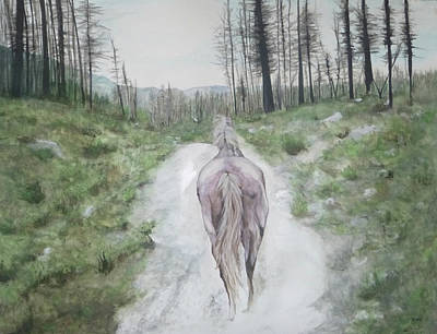 Painting - Path To Your Dreams by Carrie Diaz