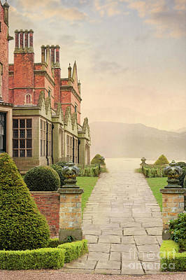 Photograph - Pathway Approaching A Mansion House by Lee Avison