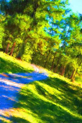 Painting - Pathway by Jai Johnson