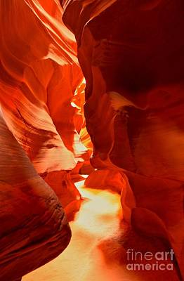 Photograph - Pathway Through Upper Antelope by Adam Jewell