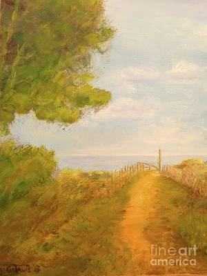 Painting - Pathway To Beach by Paul Galante