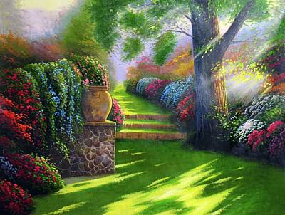 Digital Art - Pathway To Heaven by Karen Showell