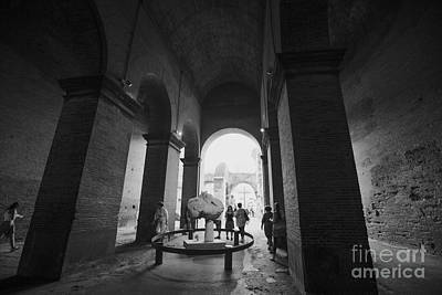 Pathway To History In Rome Art Print by Alanna DPhoto