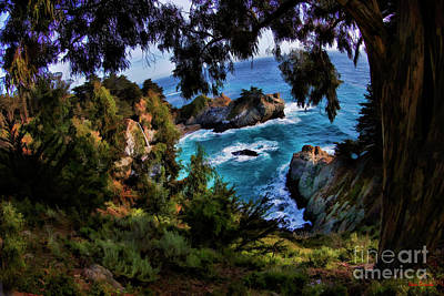 Photograph - Pathway To Mcway Falls  by Blake Richards