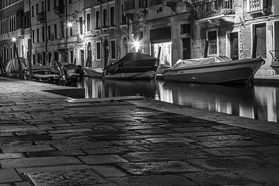 Photograph - Pathway To The Canal In Venice  by John McGraw