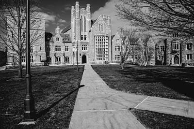 Uconn Photograph - Pathway To The Law by Karol Livote