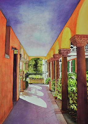 Wall Art - Painting - Pathway To The Past by Terry Arroyo Mulrooney