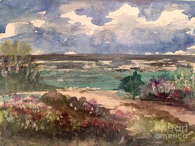 Painting - Pathway To The Shore by Barbara Plattenburg