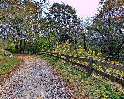 Photograph - Pathway by Victor Montgomery