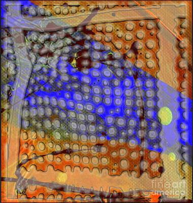 Digital Art - Pathways by Angela L Walker