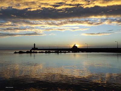 Duluth Photograph - Patience by Alison Gimpel