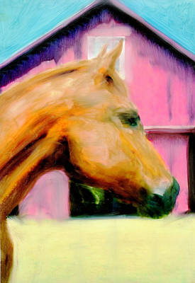 Art Print featuring the painting Patience by FeatherStone Studio Julie A Miller