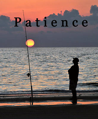 Photograph - Patience Poster by David Lee Thompson
