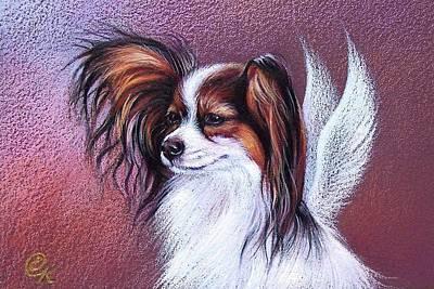 Drawing - Patient Angel  by Elena Kolotusha