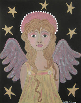 Painting - Patient Angel by Linda Tetmyer