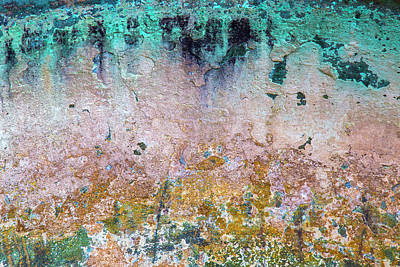 Photograph - Patina Abstract by Hitendra SINKAR