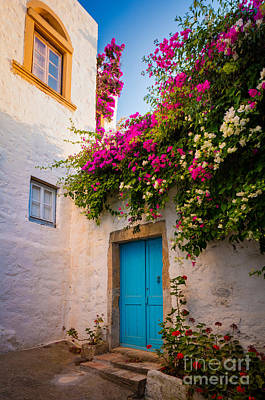 Photograph - Patmos Bougainvillea by Inge Johnsson