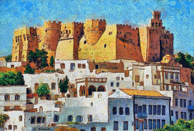 Patmos Art Print by George Rossidis