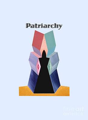 Painting - Patriarchy Text by Michael Bellon