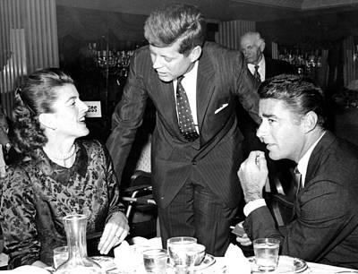 1950s Candids Photograph - Patricia Kennedy Lawford, John F by Everett