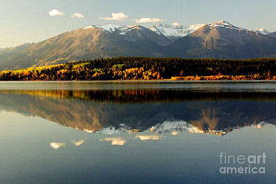 Patricia Lake Art Print by Frank Townsley