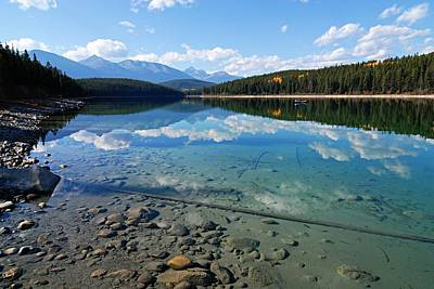 Photograph - Patricia Lake by Larry Ricker