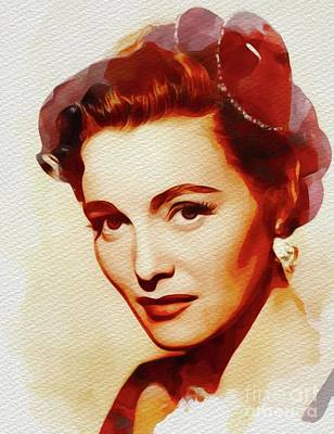 Just Desserts - Patricia Neal, Movie Star by Esoterica Art Agency