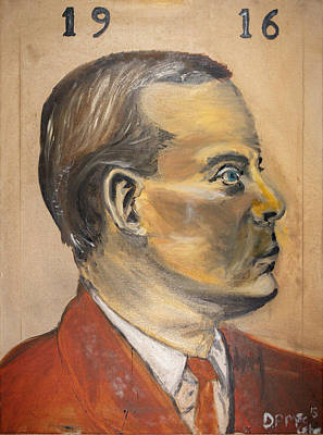 Patrick Henry Pearse Original by Damien McCabe