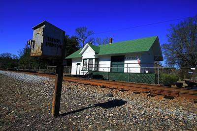 Photograph - Patrick South Carolina Depot by Joseph C Hinson Photography
