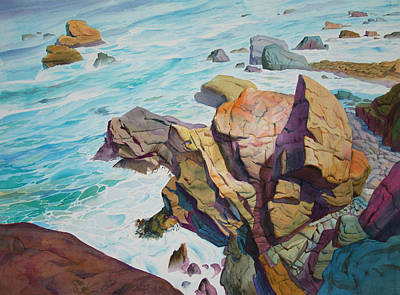 Painting - Patricks Point by John Norman Stewart