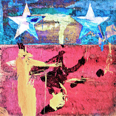 Art Print featuring the painting Patriot Act by Dominic Piperata