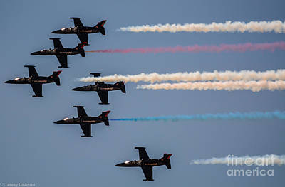 Patriot Aerial Demonstration Team Art Print by Tommy Anderson