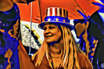 Digital Art - Patriotic by Bill Posner